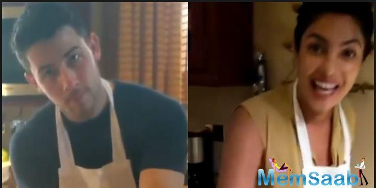Nick Jonas shared the videos and pictures of themselves learning to make pasta with the chef around.