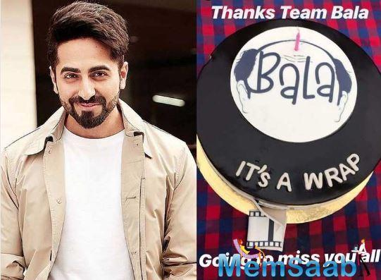 Now, Ayushmann took to his Instagram account to announce the wrap of the film. He posted videos of him dancing on and cake cutting from the wrap-up bash.
