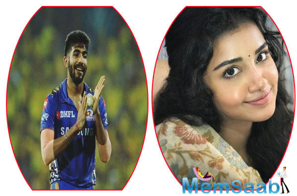 The fact that Anupama follows Bumrah on Twitter has led to these speculations about their brewing love.