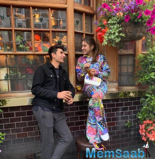 Taking to Instagram, Sara shared an adorable picture with Ibrahim. Clicked in their candid best, the siblings look super cute. But it was Sara's caption that had us in splits.