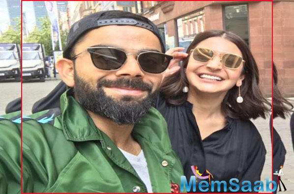 Recently, a few pictures of Anushka and Virat have become viral on social media in which they can be seen strolling on the streets of Manchester.
