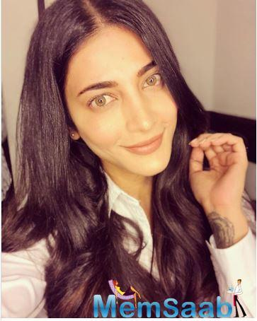 The actress has been trolled and criticised over her films, looks, personal life and a lot more, however, Shruti never let anything affect her.