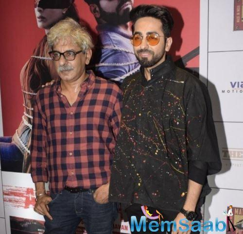 The director reportedly pitched a story to Ayushmann, who loved it and allegedly even gave his nod to the project.