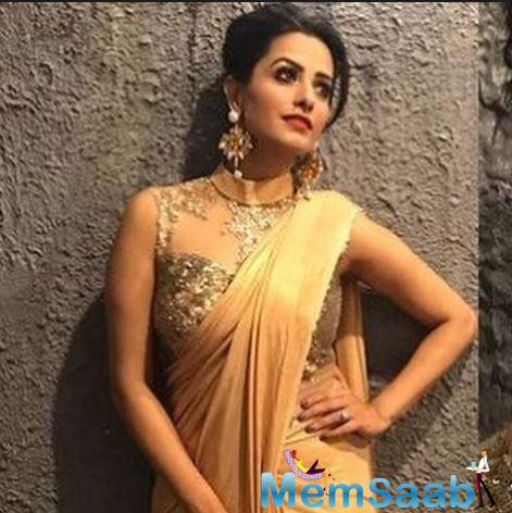 Anita Hassanandani, who is all set to show her dance skills along with husband Rohit Reddy on season nine of the celebrity dance reality show,