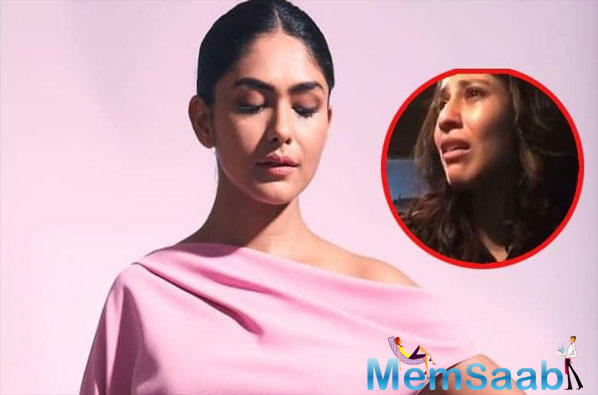 Mrunal who became extremely popular with the role of Bulbul on Zee TV's KumKum Bhagya marked her Bollywood debut with Love Sonio.