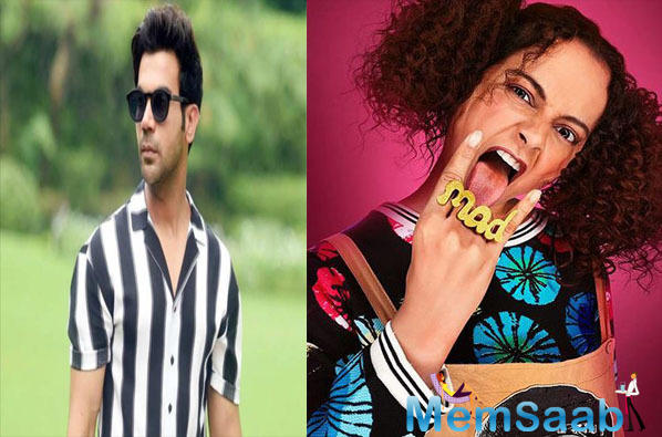 """Kangana's co-star, Rajkummar Rao has finally reacted to the situation. While talking to a leading portal, Rao said, """"That's her point of view. All I can say is more power to her."""