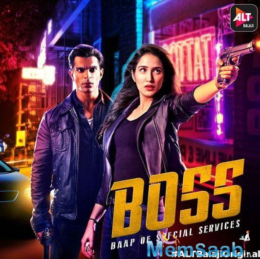 "A poster was shared on official page of ALT Balaji and they captioned,  ""Woh case solve karne ke liye criminals ki tarah sochta hai. And she believes in the rules... Are you ready to meet the #BOSS – Baap of Special Services?"""