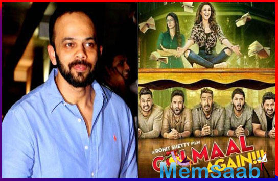 """The universe of """"Golmaal"""" expanded with """"Golmaal Returns"""", """"Golmaal 3"""" and """"GolmaalAgain"""" (2017). Names like Kareena Kapoor Khan, Amrita Arora, Kunal Kemmu, Shreyas Talpade, Tabu and Parineeti Chopra are associated with it."""