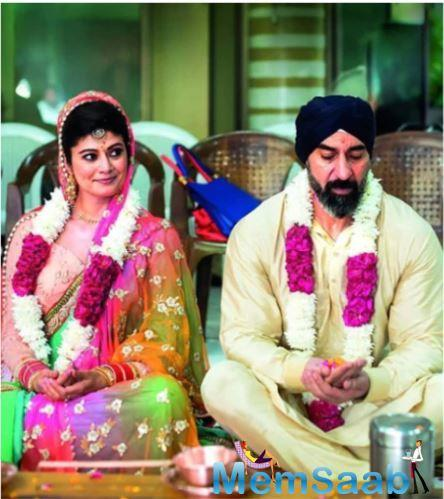 The two kept their nuptials under the wraps until people started speculating seeing the chooras in Pooja Batra's hand. They are worn after marriage.
