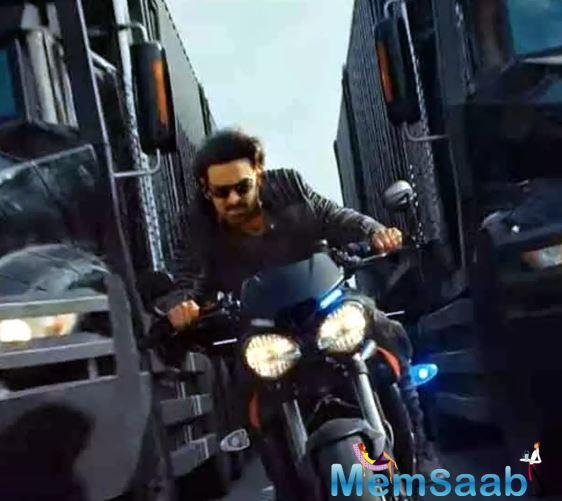 Interestingly, director Sujeeth had offered Saaho way before Baahubali.