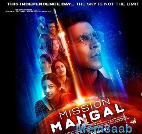 Today, Akshay and other cast members took to social media to share another poster of Mission Mangal and also shared the release date of the trailer.
