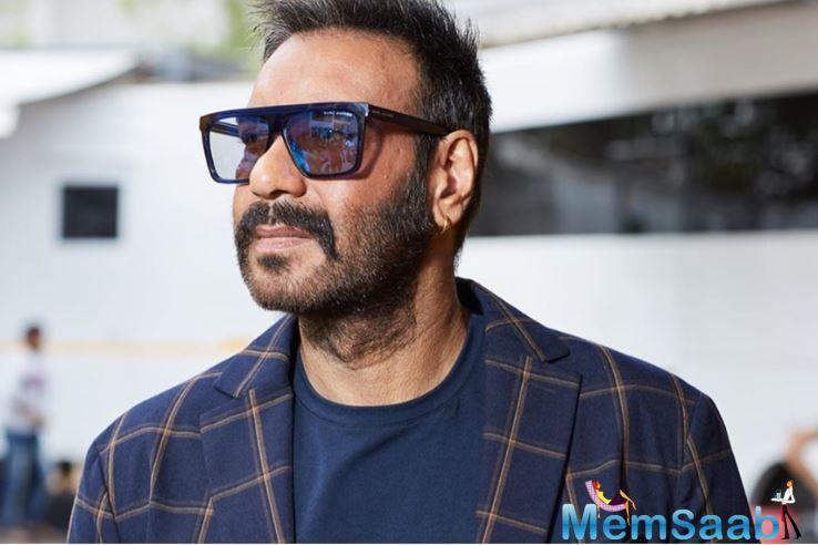 Ajay was last seen in the film De De Pyaar De alongside Tabu and Rakul Preet Singh. Next, he will be seen in Bhuj: The Pride of India.