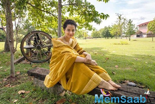 Kangana said that she believes in certain things and likes to express them and that there's nothing wrong with that.