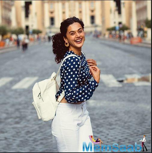 Taapsee also credited the Varun Dhawan-fronted film for making her the face of