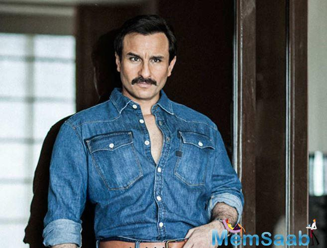Opening up about experimenting with film roles, Saif revealed that fear isn't a factor for him when it comes to trying out new things in his craft, provided that whatever he does is artistic.