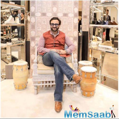 Saif Ali Khan is one Bollywood star who is not afraid to take risks as far as his films are concerned.
