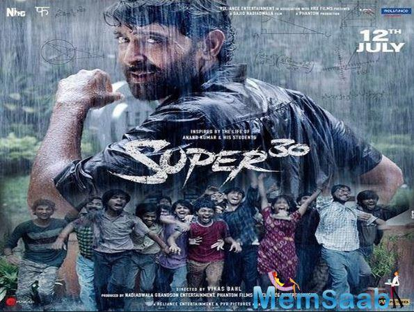 Super 30 has been in much news for its super realistic content as it's based on true life incidents.