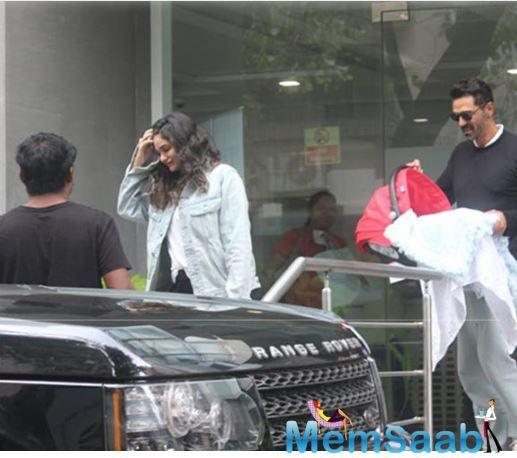 Arjun Rampal and his girlfriend Gabriella Demetriades were blessed with a baby boy and have now turned parents.