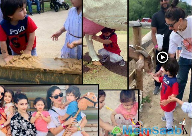 Recently, Soha Ali Khan had been sharing a lot of pictures  of Taimur and Inaaya while she is vacationing with her family in London.