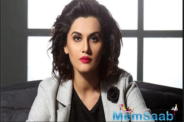 Taapsee Pannu is currently busy gearing up for her upcoming films, the promos of which have left her fans excited.