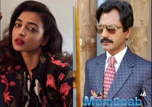 Radhika Apte and Nawazuddin Siddiqui have worked on three projects yet -Maanjhi: The Mountain Man, Badlapur and Sacred Games.
