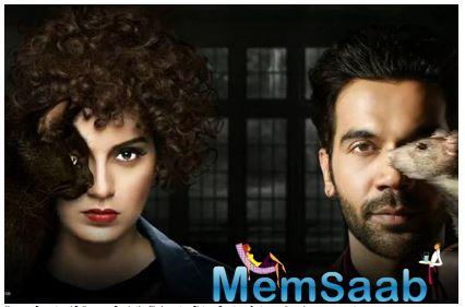 Actors Kangana Ranaut and Rajkummar Rao's much-awaited film Judgementall Hai Kya, has put an impressive total of 5.40cr!