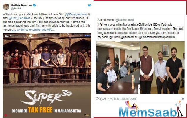 The film has already secured a tax-free status in five states including Bihar, Rajasthan, Uttar Pradesh, Gujarat, and New Delhi.