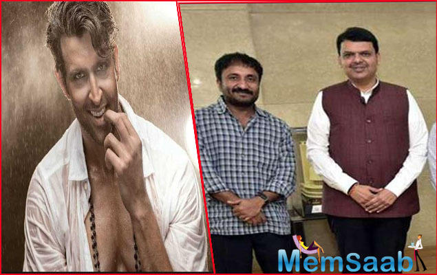 As Maharashtra cabinet made Hrithik Roshan starrer 'Super 30' tax-free on Tuesday, the actor took to social media to express his gratitude to the state's Chief Minister Devendra Fadnavis.