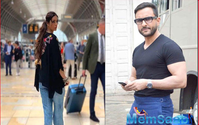 A few days back, the makers of Saif Ali Khan starrer Jawaani Jaaneman had posted a picture of an actress, whose back was facing the camera.