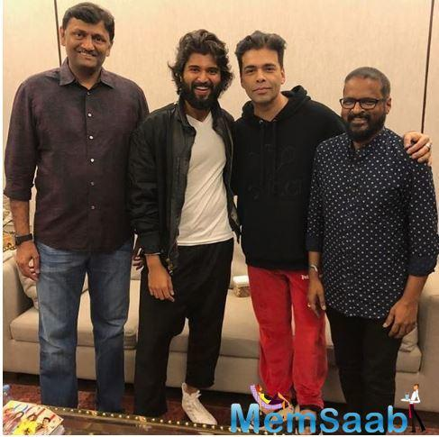 As per a report in Mumbai Mirror, Bhushan Kumar - Murad Khetani and Sajid Nadiadwala - Vijay Galani were also keen to acquire the rights of Dear Comrade.