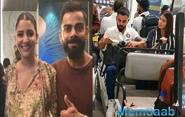 The couple was recently in the UK and after Team India being ousted from the World Cup race, Virat and Anushka returned to Mumbai a few days later.