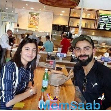 Now, pictures of Virat and Aushka from Florida have surfaced all over the Internet and is going viral.