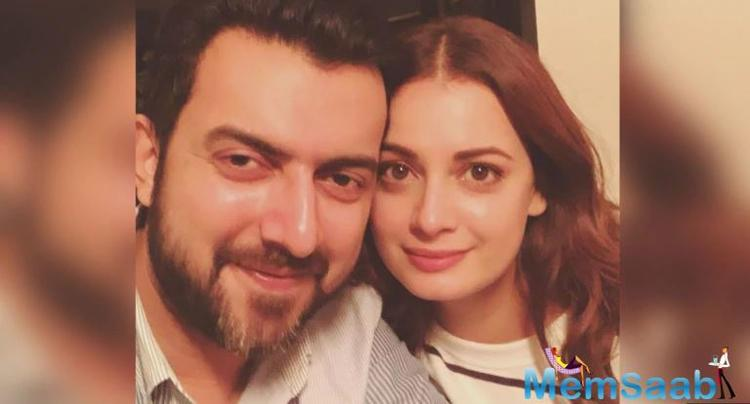 Dia Mirza, 37, and Sahil Sangha, 39, were in a relationship for a while before they got married in 2014.