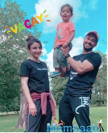 After Taimur Ali Khan headed to London for a family vacay with mommy Kareena Kapoor Khan and daddy Saif Ali khan, cousin Inaaya Kemmu joined her brother with her parents- Kunal Kemmu and Soha Ali Khan.