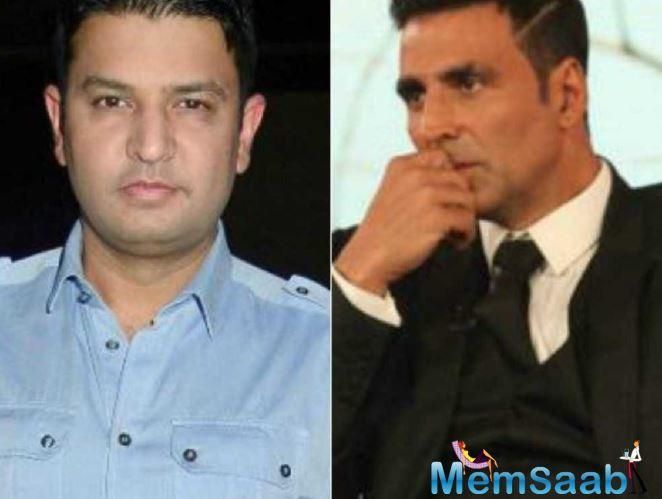 However, recent reports suggest that both Akshay and Bhushan have decided to let the bygones be bygones.