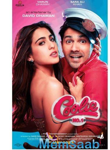 The remake is being helmed by David Dhawan and on Sara's birthday on August 12 , the first look and posters of the film were launched.
