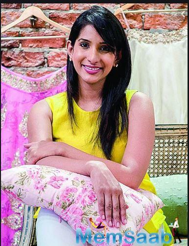 City designer Anushree Reddy is going places.