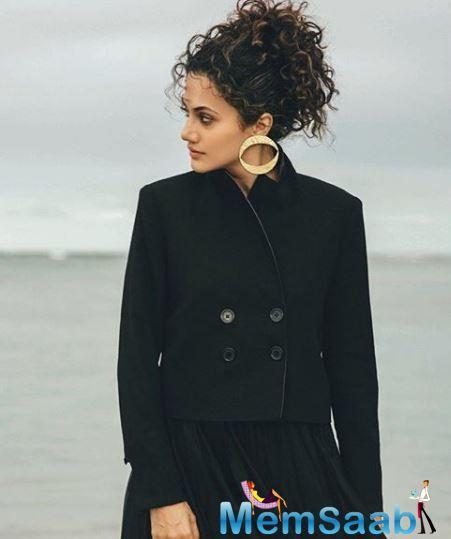 Taapsee further adds,