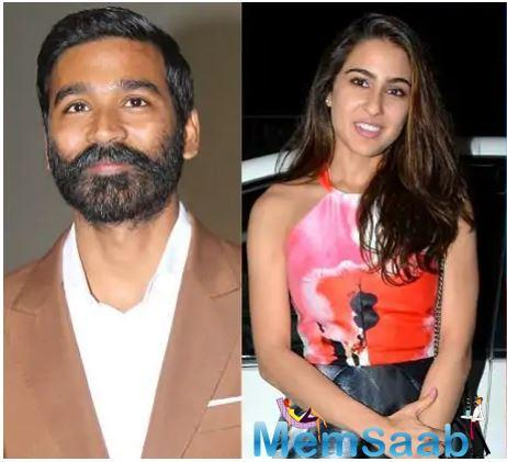 While Dhanush and star kid Sara Ali Khan are to come together for this project, there will be one more leading actor.