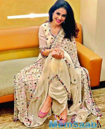 The Jaane Tu Ya Jaane Na actress had set the ramp on fire at the Lakme Fashion Week as a showstopper for designer Saroj Jalan.
