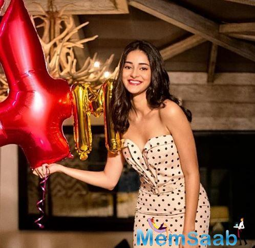 Ananya Panday also took to her Instagram account to share the first look poster of the film and wrote that the film will be about,