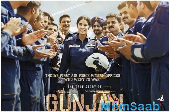 The posters of Janhvi Kapoor's much-awaited film, Gunjan Saxena: The Kargil Girl, have just been released by the makers of the movie.