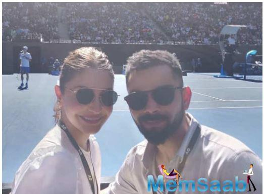 Anushka Sharma is currently touring the world with husband Virat Kohli. Pictures of the couple along with the Indian cricket team have been doing the rounds on the internet of late.