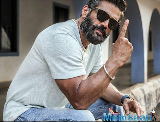 Suniel Shetty, who have made a mark in Hindi films as an action hero, has said that he did his own stunts in films because he wanted to prove himself.