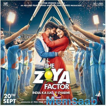 Dulquer made his Bollywood debut with the 2018 film Karwaan, and talking about the film, The Zoya Factor is a screen adaptation of Anuja Chauhan's book by the same name and Dulquer plays the role of a cricketer in the film.