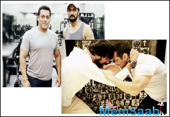 The upcoming sequences require Salman to be supple as there will be some freehand fight combat scenes.