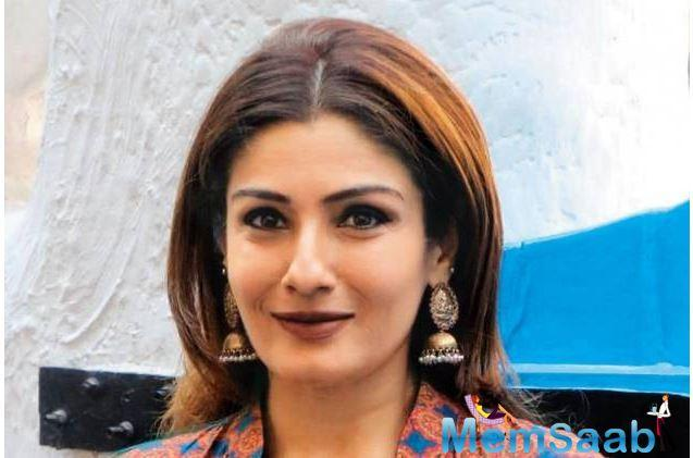 New Delhi, Sep 9: Raveena Tandon, the 'Mohra' girl who scorched the screens in 80s and still looks young and pretty at 44 will soon become a nani as her daughter Chayya is expecting her first child.