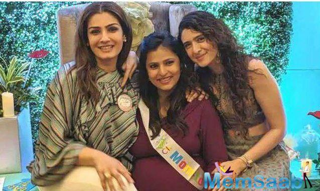 Raveena got married to businessman Anil Thadani in 2004 .Later, she gave birth to daughter Rasha and son Ranbirvardhan.