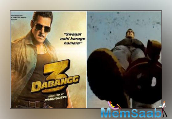 The makers of Dabangg 3 have released a fun motion poster and later a static poster of Dabangg as well. The poster has Salman's famous catchphrase, 'Swagat Toh Karo Humara!' in four languages.