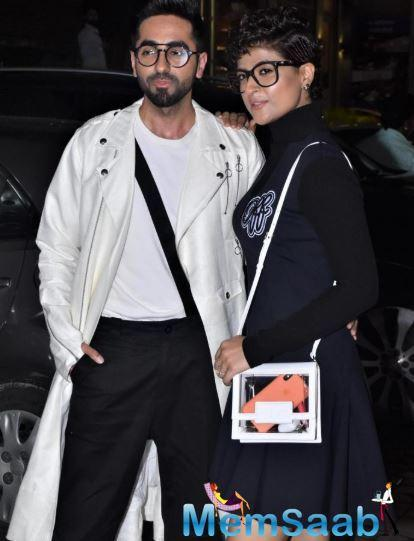 Tahira had revealed that hubby Ayushmaan has given her the funny nickname of Harish, in an earlier IANS report.